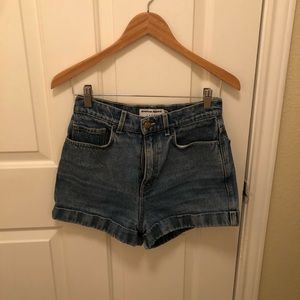 Size 28 Jean Shorts from American Apparel